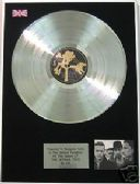 U2  - Platinum LP Disc - THE JOSHUA TREE